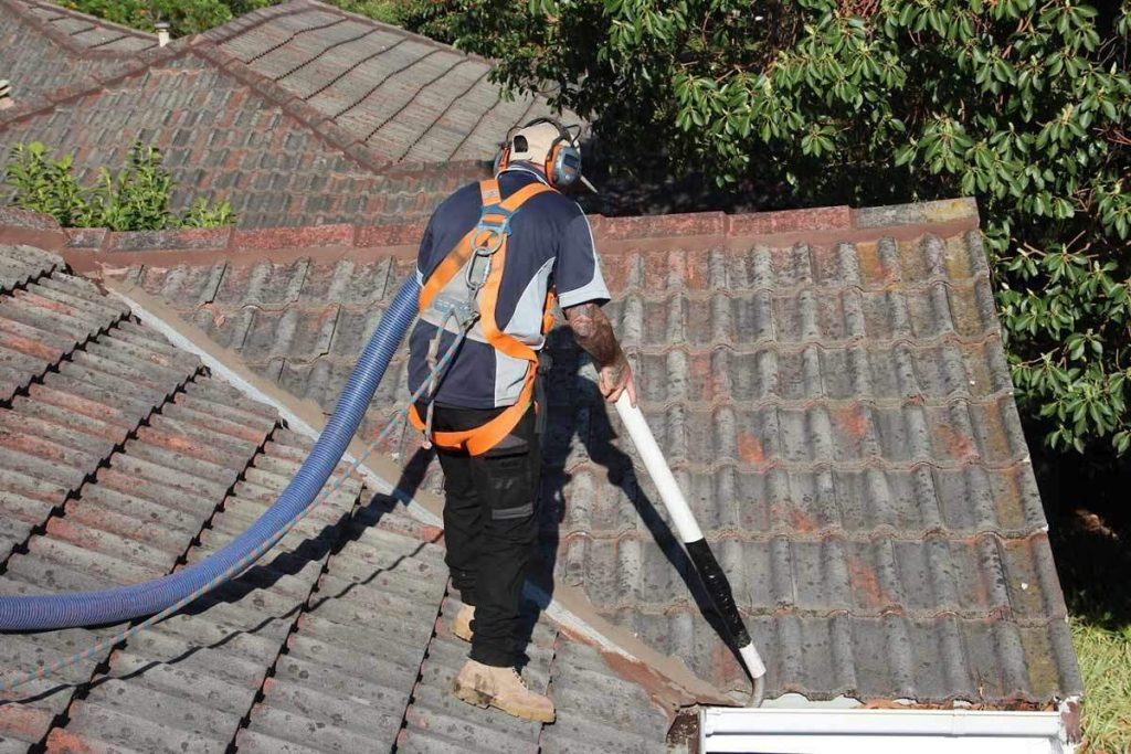 roof gutters cleaned
